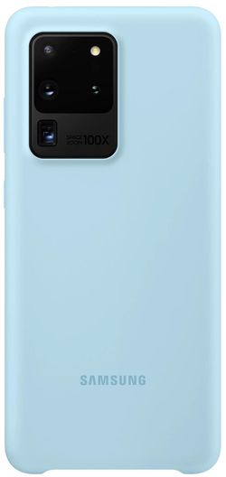 cumpără Husă telefon Samsung EF-PG988 Silicone Cover Sky Blue în Chișinău
