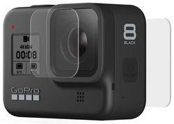 купить Аксессуар для экстрим-камеры GoPro Tempered Glass Lens + Screen Protectors (AJPTC-001) в Кишинёве