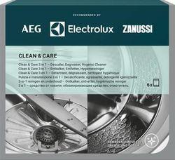 купить Средство антикалк Electrolux M3GCP400 Clean and Care 3x 1 pentru masini de spalat rufe & vase (6 buc) в Кишинёве