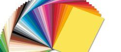 Set de hârtie colorată 100 foi