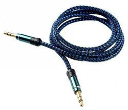 cumpără Cablu pentru AV Tellur TLL311041 Audio jack 3.5mm- blue în Chișinău