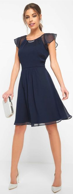 Платье ORSAY Темно синий 467282 orsay