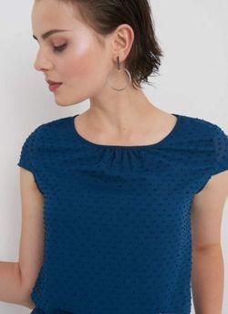 Блуза ORSAY Темно синий 690054