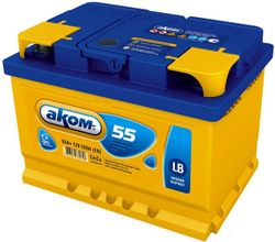 Baterie auto Akom 6CT-55VL LB