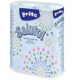 GRITE - Prosop de bucatarie 2str Saluto 2 role, 10,4m