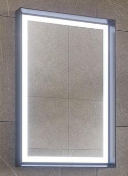 Зеркало для ванной Orka Craft 60 Antracite (03286)