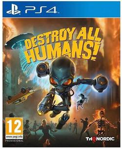 cumpără Game PlayStation Destroy All Humans (PS4) în Chișinău