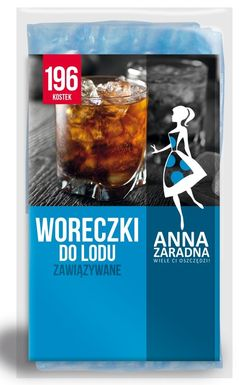 Pungi pentru congelare 196 cuburi Anna Zaradna
