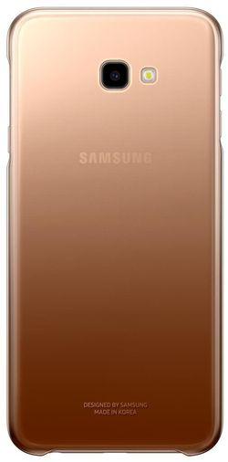 cumpără Husă pentru smartphone Samsung EF-AJ415 Gradation Cover, Gold în Chișinău