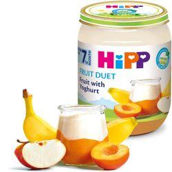 Piure de fructe cu iaurt Hipp (7 luni+), 160g