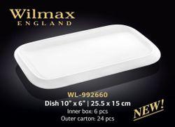Platou WILMAX WL-992660 (25,5 x 15 cm)