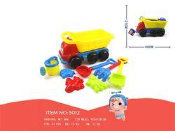 Набор игрушек для песка в машине, 8 ед, 40X20cm