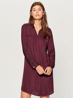 Платье MOHITO Темно бордо un428-93x