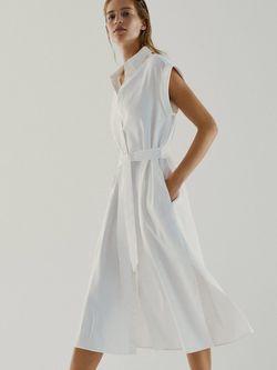 Платье Massimo Dutti Белый 6622/967/251