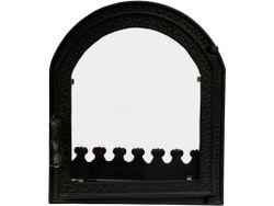Дверца чугунная со стеклом Weekend - Claudia mic