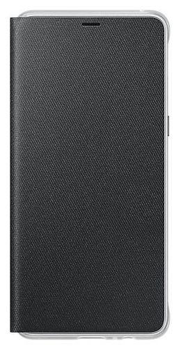 купить Чехол для смартфона Samsung EF-FA730, Galaxy A8+ 2018, Neon Flip Cover, Black в Кишинёве