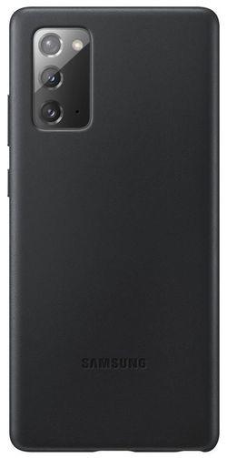 cumpără Husă pentru smartphone Samsung EF-VN980 Leather Cover Black în Chișinău