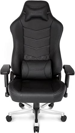 AKRacing Onyx Deluxe, Real Leather Black