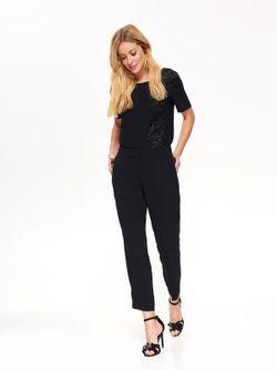 Блуза TOP SECRET Чёрный