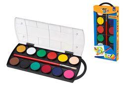 Набор красок акварельных 12 цветов BIC