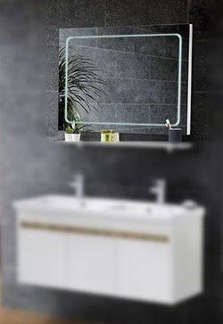 Зеркало для ванной Martat Isik 100cm White
