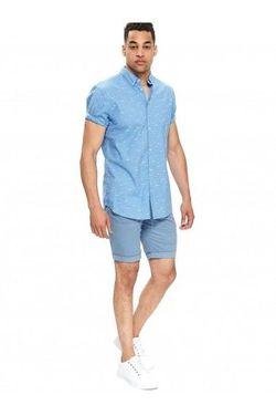 Рубашка TOP SECRET Голубой с принтом sks1083ni.