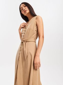 Платье RESERVED Бежевый vf856-08x