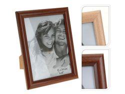 Rama foto din lemn 15X20cm, culoare naturala/cafenie
