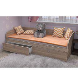 Детская кровать SPATIO дуб сонома