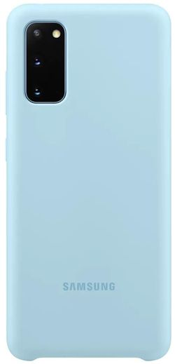 cumpără Husă telefon Samsung EF-PG980 Silicone Cover Sky Blue în Chișinău