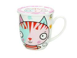 Set cana 420ml cu capac Milk&Coffe Flipper pentru copii, in cutie cadou