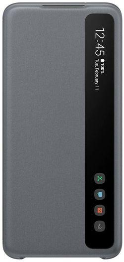 cumpără Husă telefon Samsung EF-ZG980 Clear View Cover Gray în Chișinău