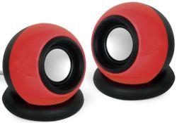 купить Колонки мультимедийные для ПК Gembird SPK-AC-R Black/Red в Кишинёве