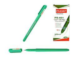 Ручка шариковая PS-001 soft ink,1mm зеленая