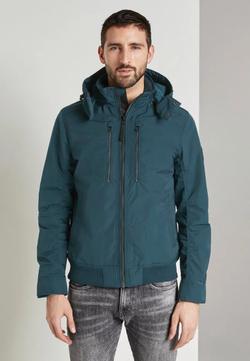 Куртка TOM TAILOR Темно бирюзовый