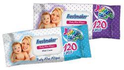 Салфетки влажные Freshmaker Jumbo pack 120