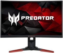 "купить Монитор LED 27"" Acer Predator Z271U Curved ZeroFrame Black/Red (UM.HZ1EE.001) в Кишинёве"