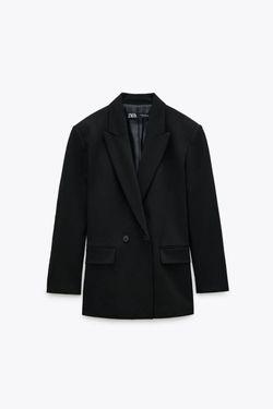 Пиджак ZARA Чёрный 2753/232/800