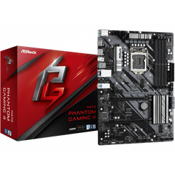 MB S1200 ASRock H470 PHANTOM GAMING 4  ATX