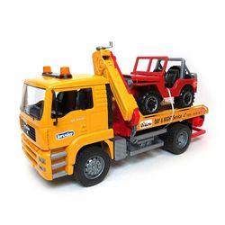 Camion remorcher MAN cu un încărcător, cod 43249