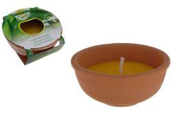 Luminare Lamiita parfumata, D15/13cm, candelabru din ceramica
