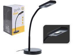 Лампа настольная LED 38cm (16 SMD LED/4W), металл, черная