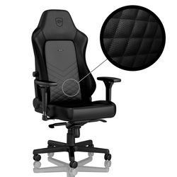 Gaming Chair Noble Hero NBL-HRO-PU-BLA Black/Black