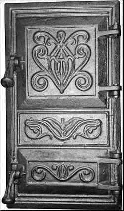 Дверь ECO для печи