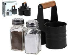 Набор для соли и перца EH 13X6.5сm, на подставке