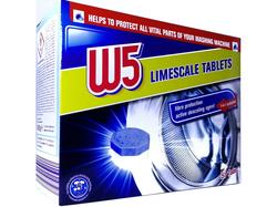 Таблетки против образования накипи W5 Limescale tablets 51 шт