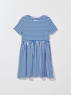 Платье MOHITO Синий в полоску zf976