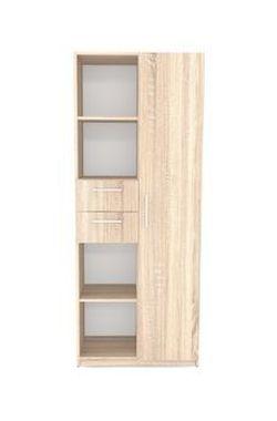 Office Line №4 Шкаф комбинированного типа Дуб