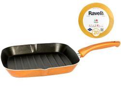 Сковорода гриль Ravelli N20 28X28cm