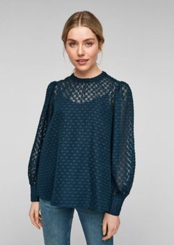 Bluza s.Oliver Verde inchis